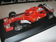 1:18 Ferrari F2005 M. Schumacher 2005 rebuilt Full tabacco in showcase TOP