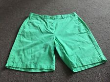 M&s Femmes Apple 100% coton Casual Shorts Bnwt Taille 10 Free Sameday Envoi