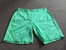 M&S  Women Apple 100% Cotton Casual Shorts BNWT Size 10 Free Sameday Postage