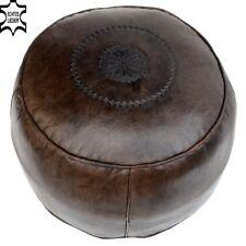 Leder Sitzkissen Marokkanische Orientalische Fußkissen Orient Kissen Pouf LSRs