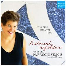 PARTIMENTI NAPOLETANI.MUSIC FOR KEYBOARD INSTR. -PARASCHIVESCU CD NEU PAISIELLO