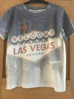Boys Las Vegas T-shirt Age 4-5 Years By George