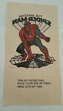 Spiderman iron on 1960's