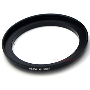 Alpa M67 Filter Adapter Ring Fits Alpa Lens 24 28 100 150 Photograpgy Accessory