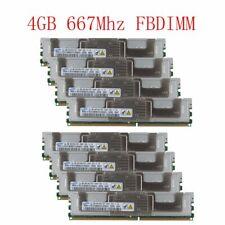 Samsung 32GB 8x 4GB DDR2 PC2-5300F 667MHz FB-DIMM ECC FBD RAM CL5 Server Memory