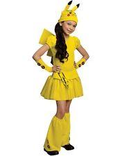 Pikachu Halloween Costume Dress Pokemon Girl Size Medium Cosplay