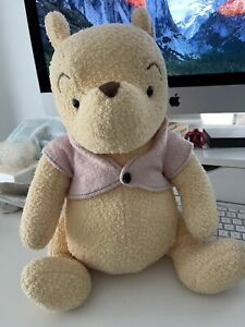 Disney Vintage Classic Winnie The Pooh Plush Pink Sweater Jointed 18 Canasa