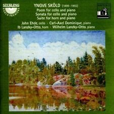 Sköld: Poem for Cello and Piano / Cello Sonata / Suite for Horn and Piano, New M