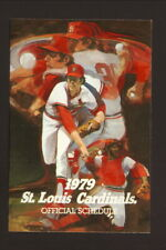 St Louis Cardinals--John Denny--1979 Pocket Schedule--Busch Beer