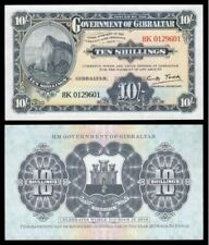 Gibraltar 10 Shillings 2018 (PERFECT UNC) Official Copy of 1934 Legal Tender