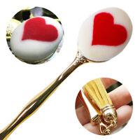 Loving Heart Design Nail Brushes Foundation Eyeshadow Powder Blush Cosmetic Tool