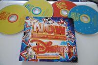 NOW THAT'S WHAT I CALL DISNEY! 4 CD 88 Titel Box Lion King ALADDIN Mulan Bambi