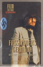 Fassbinder's Germany: History, Identity, Subject: By Elsaesser, Thomas