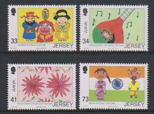 Jersey - 2006, Europa, Kinder Briefmarke Designs Set - MNH - Sg 1260/3