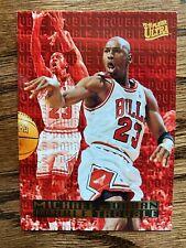 1995-96 Ultra Double Trouble Michael Jordan #3 Bulls