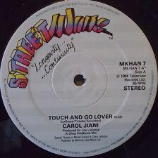 "CAROL JIANI - Touch & Go Lover ~ 12"" Single"
