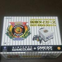 Nintendo Gamecube Hanshin Tigers Console System Very Rare ITEM Japan NEW