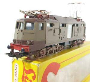 1964 Vintage,LIMA 8022,Ho Spur - Italienische FS Brown,E424 Elektro Lokomotive