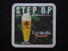 CLAUSTHALER NON-ALCOHOLIC BEER STEP UP TO THE TASTE OF GERMANY'S BEST COASTER