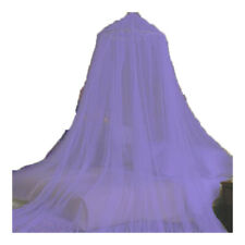 PURPLE BED CANOPY MOSQUITO NET PURPLE - QUEEN FREE SHIPPING FROM USA