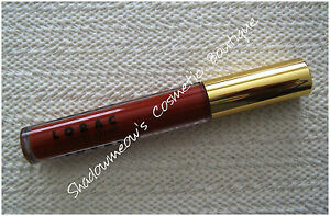 LORAC The Royal Crown Jewel Lip Lustre Creme Gloss Cherry Red 11 oz. $18 Ltd Ed