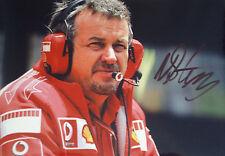 Nigel Stepney  SIGNED , F1 Ferrari Portrait Race & Test Technical Manager 2006