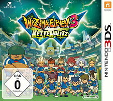 Inazuma Eleven 3: Kettenblitz (Nintendo 3DS) +neu und ovp+