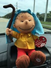 What Xmas Is All About Linus Collectible Hallmark Plush Toy Peanuts By Schultz