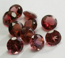 """PARCEL OF 10 LOVELY 5.00MM ROUND GARNETS!"""