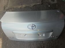 TOYOTA AVENSIS SALOON REAR BOOTLID IN SILVER (1F8) TO FIT 2006-2008