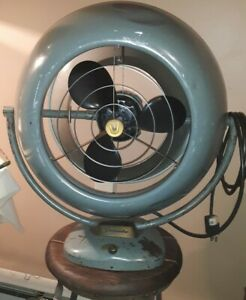 Vintage Industrial VORNADO Two Speed Fan A•12D1•10  Rewired Tested Guarenteed
