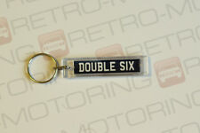 Daimler Double Six keyring - Classic British Number Plate Style Car Keytag