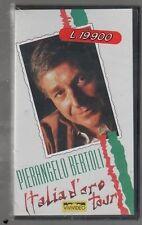 PIERANGELO BERTOLI ITALIA D'ORO TOUR VHS  SIGILLATO!!!