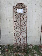 Antique Victorian Iron Gate Window Garden Fence Architectural Salvage #726
