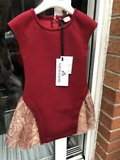 BNWT Stunning Girl's MONNALISA Dress Age 4 Years RRP £110