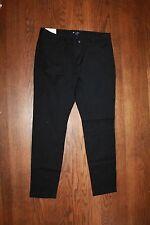 Gap Women's Black Slim City Cropped Pants Size 8 Regular