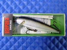 "Rapala Vintage 3-1/2"" Countdown Sinking Minnow Silver CD-9 S"