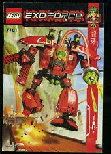 LEGO -- 7701 -  Nur Bauanleitung -- EXOFORCE --