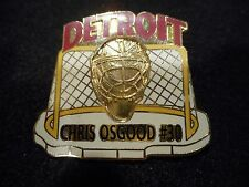 NHL DETROIT RED WINGS CHRIS OSGOOD LIMITED EDITION LAPEL PIN