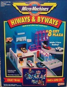 Micro Machines Hiways & Byways City Plaza
