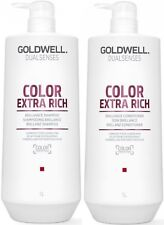 GOLDWELL DUALSENSES COLOR EXTRA RICH SHAMPOO 1 LITRE AND CONDITIONER 1 LITRE