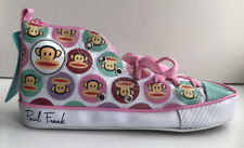 BNWT Paul Frank High Top Pencil Case, Trainer/Baseball Boot Style-Zip Fastening