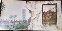 Led Zeppelin - IV, Untitled - reissued gatefold LP record + insert