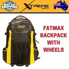 New Stanley FatMax Backpack Tool Bag Tools Organizer with Wheels and Handle