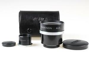 YASHICA Yashinon Wideangle Lens mit Telephoto Sucher für 124G