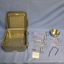 V. Mueller Jarit Codman Surgical Vaginal Delivery Set W/Case