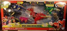 Power Rangers Dino Charge Megazord Zord Mega Pack Tricera Stego T-Rex Raptor MIB