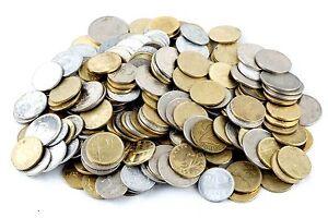 100 MIXED HUNGARIAN COINS FILLER, FORINT HUNGARY 1946 - PRESENT PRE-EURO MONEY