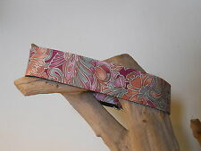 Elegant Age Pink 1 1/2 Inch Custom Made Martingale Collar