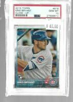 Kris Bryant 2015 Topps Close-UP Rookie PSA 10--Cubs